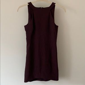 Elizabeth and James Eggplant Cocktail Dress - Sz 4